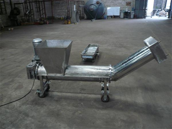 单螺旋污泥压榨机